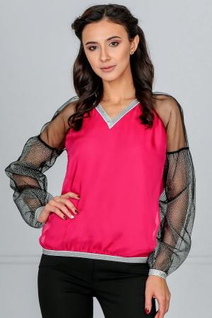Блуза малинового цвета|интернет-магазин vvlen.com