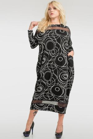 Локаничное платье оверсайз|интернет-магазин vvlen.com
