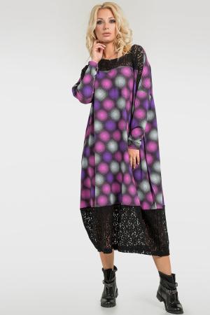 Интересное платье-миди|интернет-магазин vvlen.com