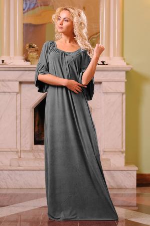 Платье оверсайз серого цвета 2423.86|интернет-магазин vvlen.com