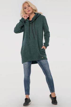 Худи зеленого цвета  |интернет-магазин vvlen.com