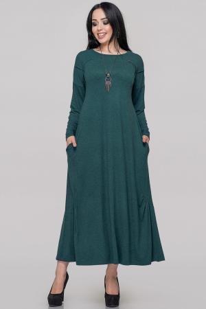 Платье оверсайз зеленого цвета|интернет-магазин vvlen.com