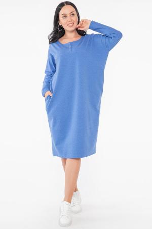 Платье оверсайз электрика цвета 2954.79 |интернет-магазин vvlen.com