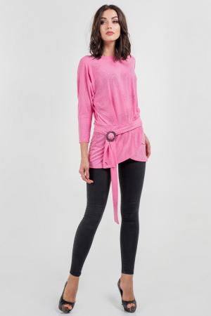 Туника вечерняя розового цвета|интернет-магазин vvlen.com