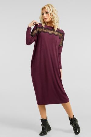 Комфортное платье миди|интернет-магазин vvlen.com