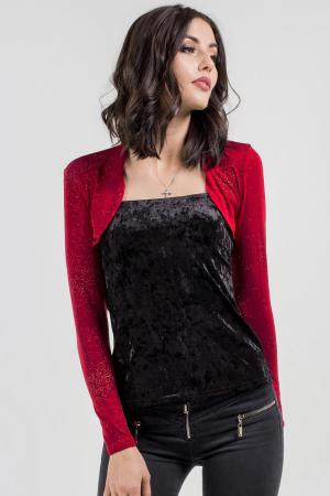 Болеро  красного цвета|интернет-магазин vvlen.com
