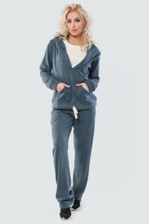 Домашний костюм серого цвета |интернет-магазин vvlen.com
