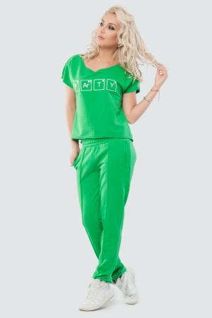 Домашний костюм зеленого цвета |интернет-магазин vvlen.com