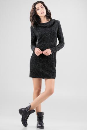 Спортивное платье  черного цвета 2648.98 интернет-магазин vvlen.com
