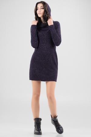 Спортивное платье  темно-синего цвета 2648.98 интернет-магазин vvlen.com