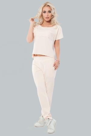 Домашний костюм персикового цвета |интернет-магазин vvlen.com
