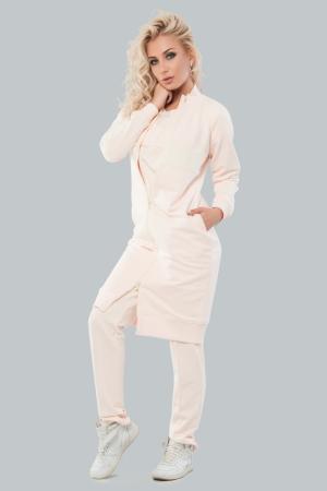 Кардиган стильный персикового цвета|интернет-магазин vvlen.com