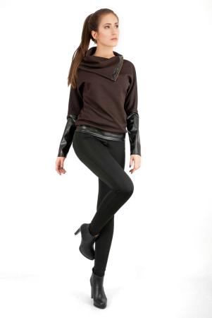 Свитшот коричневого цвета|интернет-магазин vvlen.com