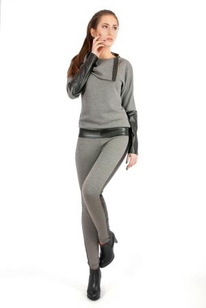 Свитшот серого цвета|интернет-магазин vvlen.com