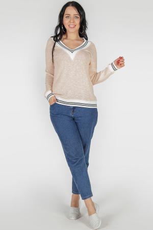 Свитшот розового цвета 383-1|интернет-магазин vvlen.com