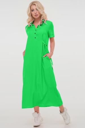 Летнее платье рубашка светло-зеленый цвета 2797.84|интернет-магазин vvlen.com