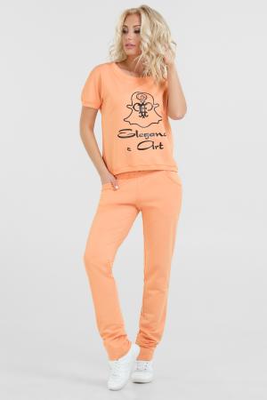 Спортивный костюм персикового цвета 050|интернет-магазин vvlen.com