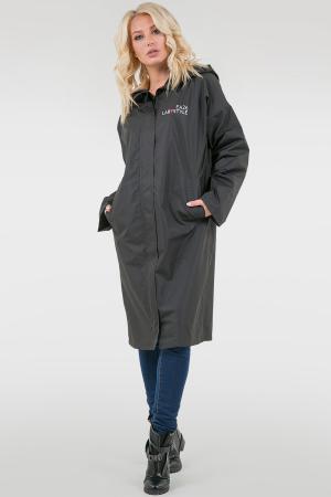 Женский плащ черный|интернет-магазин vvlen.com
