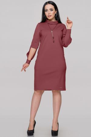 Платье футляр пудры цвета |интернет-магазин vvlen.com