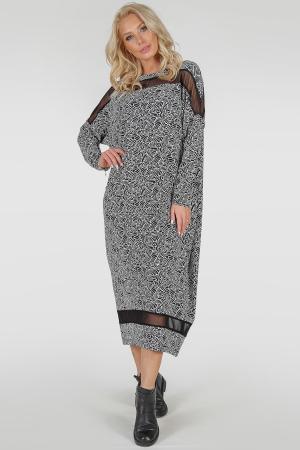Платье в стиле оверсайз|интернет-магазин vvlen.com