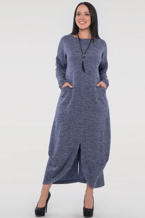 Повседневное платье трапеция джинса цвета|интернет-магазин vvlen.com
