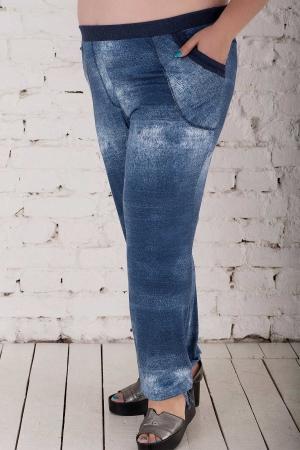 Брюки женские джинса цвета 411о-1|интернет-магазин vvlen.com
