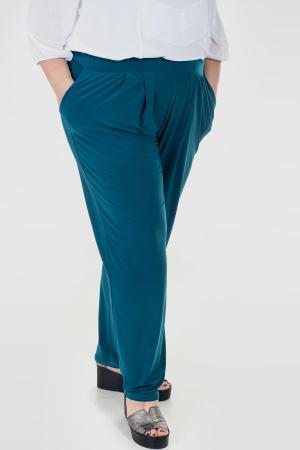 Штаны бирюзового цвета 428ф-1|интернет-магазин vvlen.com