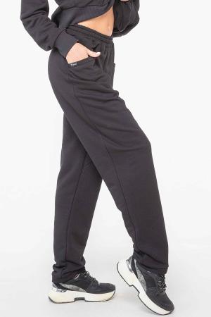 Спортивные брюки черного цвета 2957.137|интернет-магазин vvlen.com
