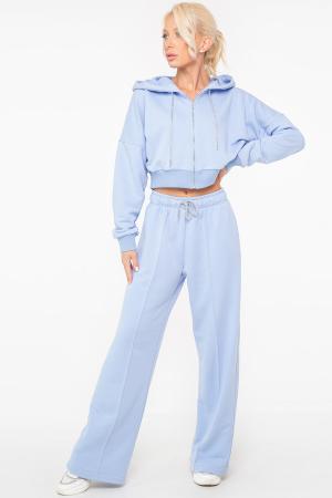 Спортивный костюм голубого цвета 2950-2949.137|интернет-магазин vvlen.com