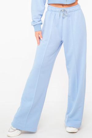 Спортивные брюки голубого цвета 2949.137|интернет-магазин vvlen.com