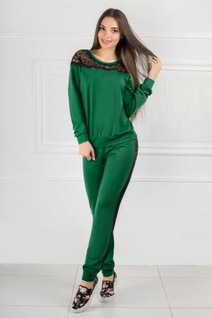 Домашний костюм зеленого цвета 2307.79|интернет-магазин vvlen.com