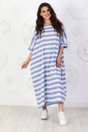 Летнее платье оверсайз джинса цвета 714|интернет-магазин vvlen.com