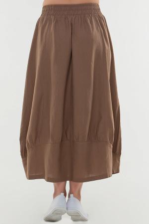 Юбка тюльпан капучино цвета|интернет-магазин vvlen.com