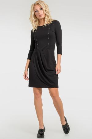 Элегантное платье с пуговицами интернет-магазин vvlen.com