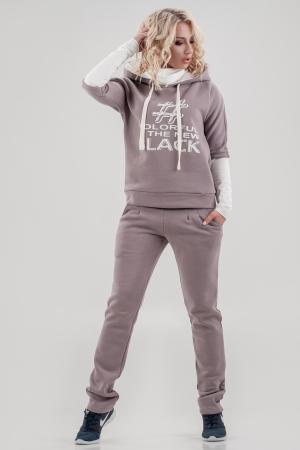 Домашний костюм капучино цвета |интернет-магазин vvlen.com