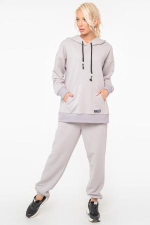 Спортивный костюм серого цвета 2943k-2943.137|интернет-магазин vvlen.com