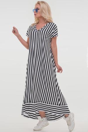 Платье в черную полоску|интернет-магазин vvlen.com