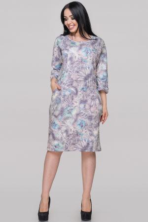 Платье футляр фиолетового тона цвета |интернет-магазин vvlen.com
