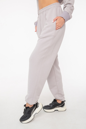 Спортивные брюки серого цвета 2943.137|интернет-магазин vvlen.com