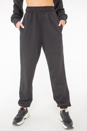 Спортивные брюки черного цвета 2943.137|интернет-магазин vvlen.com