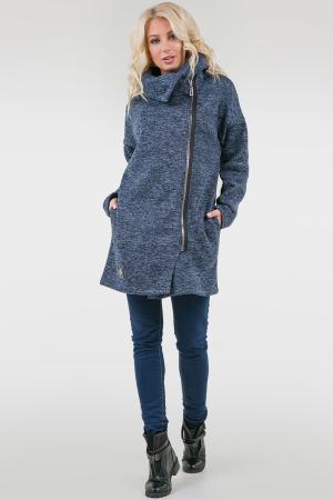 Женский кардиган модный джинса цвета 2411.108|интернет-магазин vvlen.com