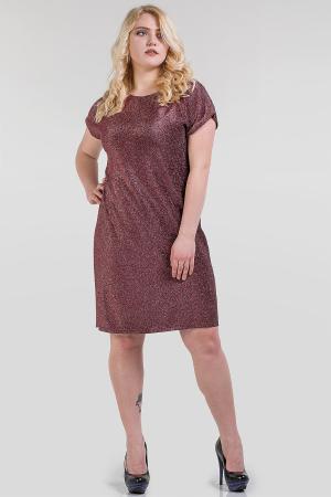 Платье футляр бордового цвета |интернет-магазин vvlen.com