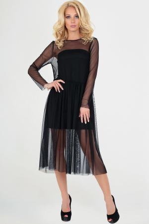Клубное платье оверсайз черного цвета|интернет-магазин vvlen.com