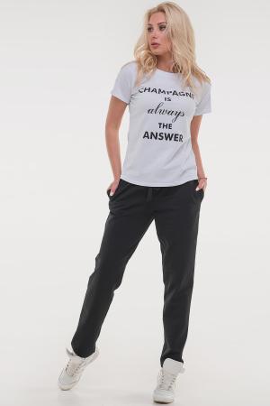 Женская футболка белого цвета answer|интернет-магазин vvlen.com