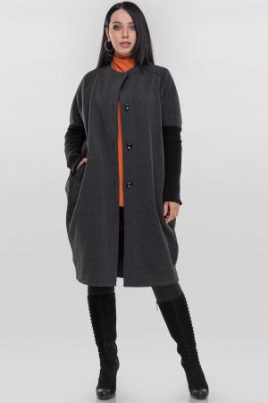 Кардиган стильный темно-серого цвета 395|интернет-магазин vvlen.com