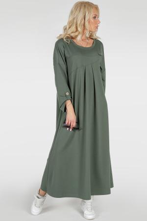 Платье оверсайз хаки цвета 2796.79|интернет-магазин vvlen.com