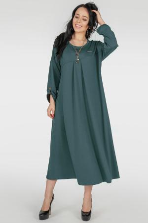 Платье оверсайз морской волны цвета 2796.79|интернет-магазин vvlen.com