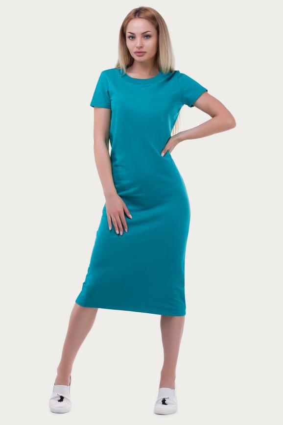 Спортивное платье  морскаяволны цвета|интернет-магазин vvlen.com