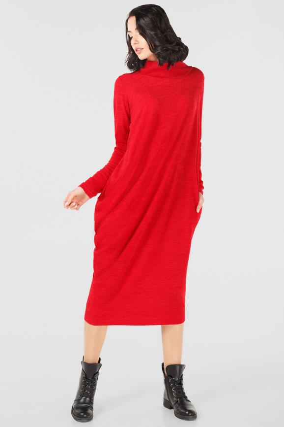 Платье оверсайз красного цвета it 1725|интернет-магазин vvlen.com