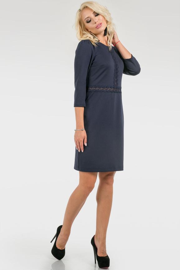 Платье с кружевом|интернет-магазин vvlen.com